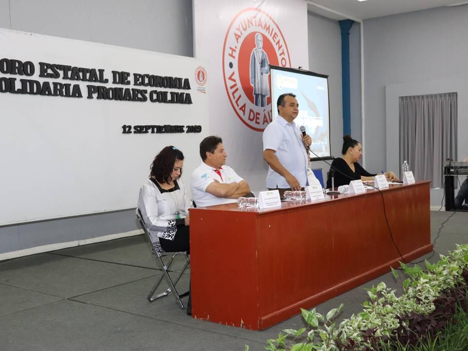 Felipe Cruz Inaugura Primer Foro de Economía Solidaria de PRONAES