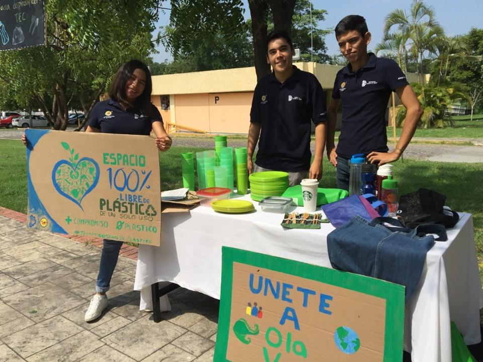 Tec de Colima trabaja para ser un instituto libre de plástico de un solo uso