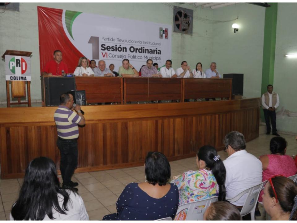 Los militantes decidirán quienes serán la responsable de dirigir al PRI en los municipios: JIPS