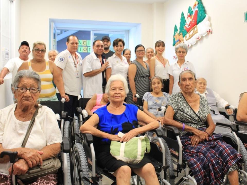 Mejoran la calidad de vida de adultas mayores