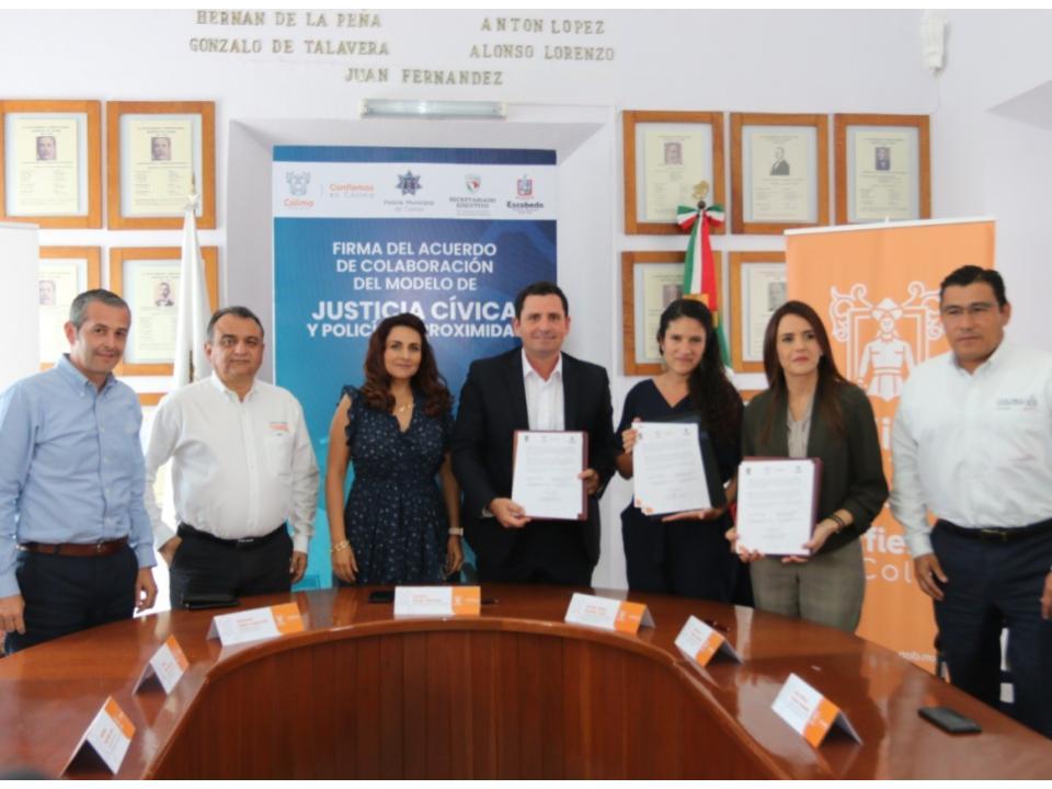 Leoncio Morán firma Acuerdo de Colaboración con Alcaldesa de General Escobedo.