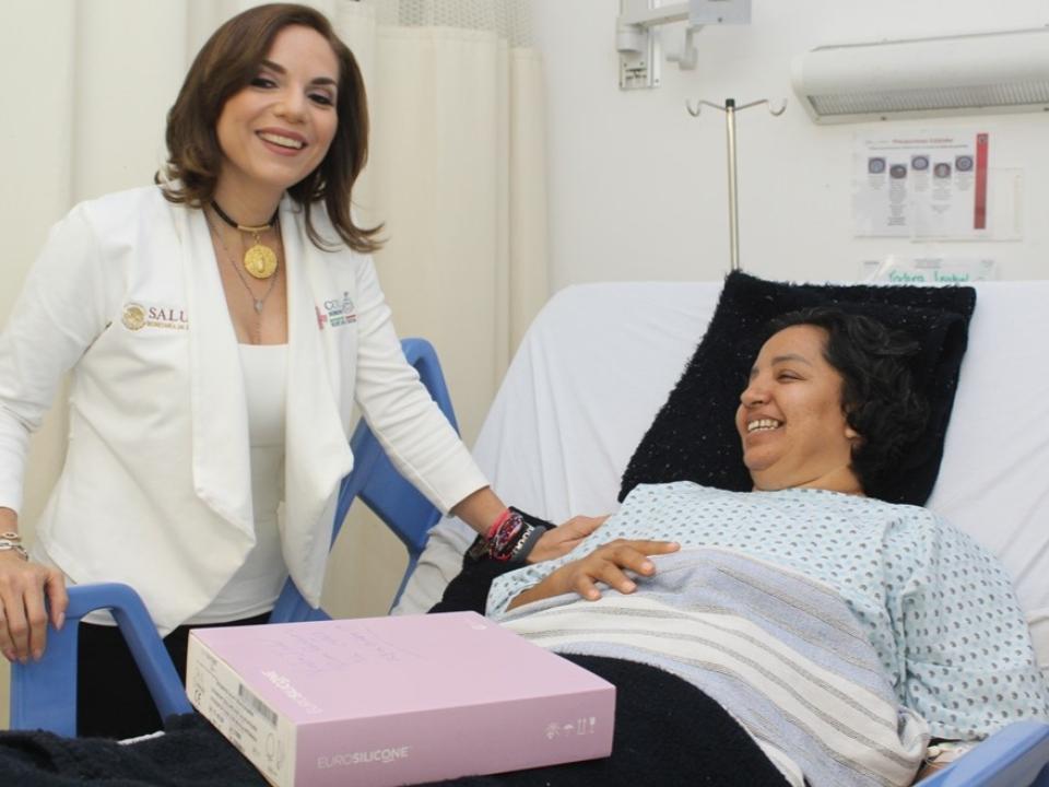 Benefician a más mujeres con  reconstrucción mamaria