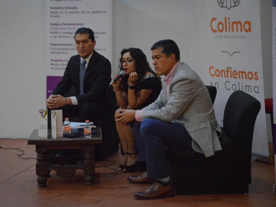 Ayuntamiento de Colima, brinda asesoría sobre Reformas Fiscales 2020.