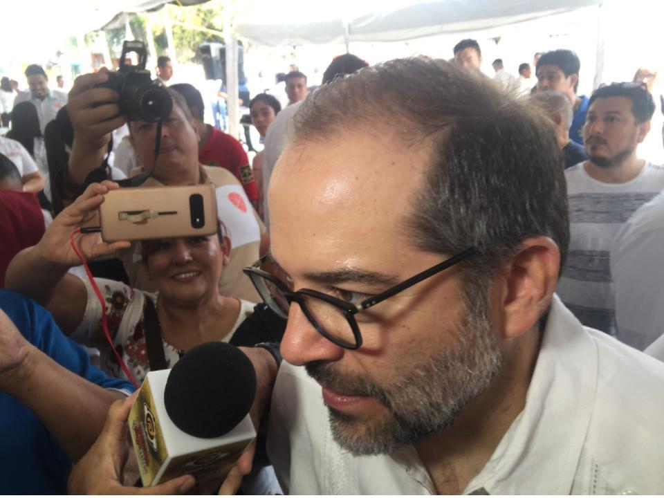 Expuse a Alfonso Romo evolución económica en  Colima y la posibilidad de nuevas inversiones: Peralta Sánchez