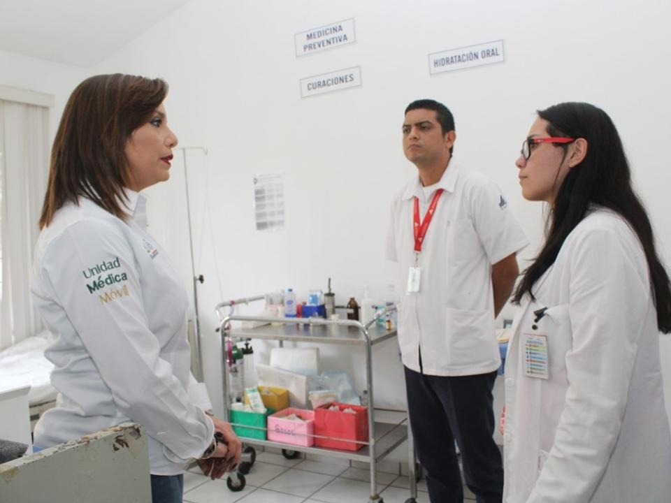 Difunde Secretaría de Salud  el Insabi en Centros de Salud