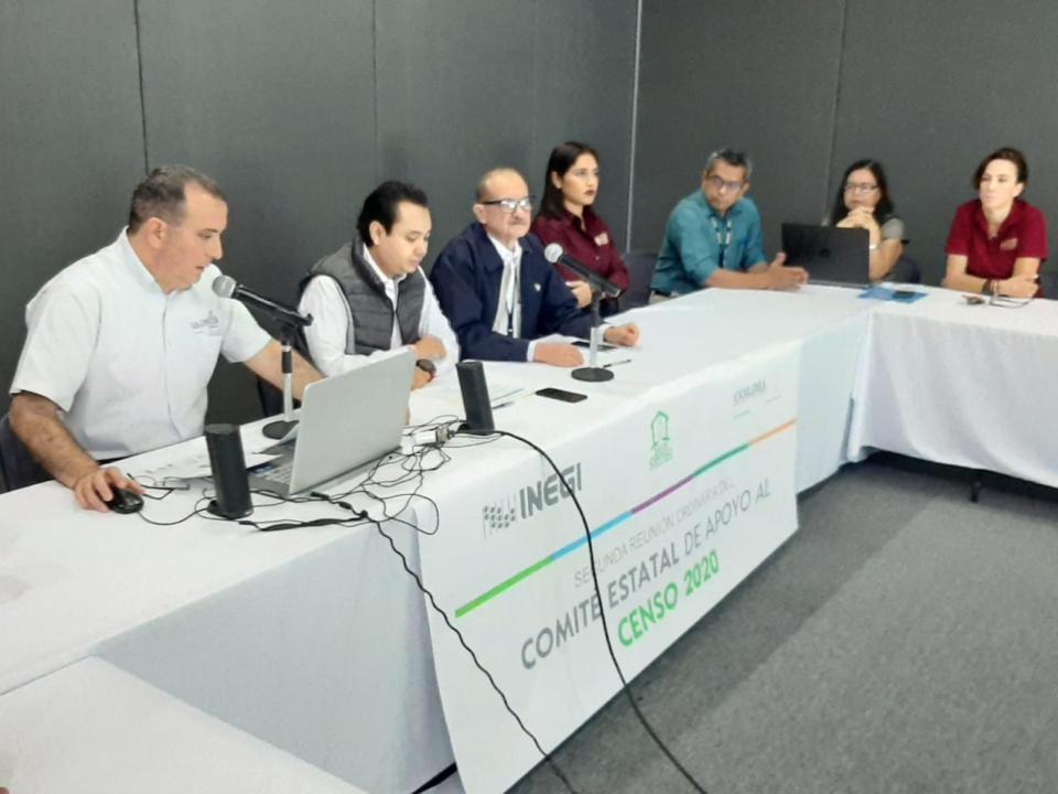 Avanzan trabajos preparativos  para el censo 2020 en Colima