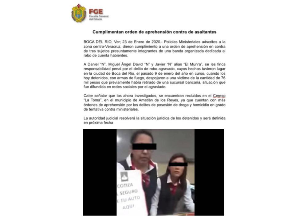 Exoneran a la cajera de Santander: el cómplice fue un falso cliente