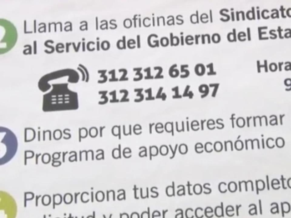 Denuncia que los teléfonos que proporciono Martin Flores para apoyos nadie contesta.