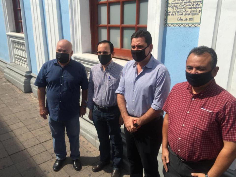 """'Locho', Federico Rangel,  Felipe Cruz y Enrique Michel se reúnen para """"intercambiar experiencias de gobierno"""""""