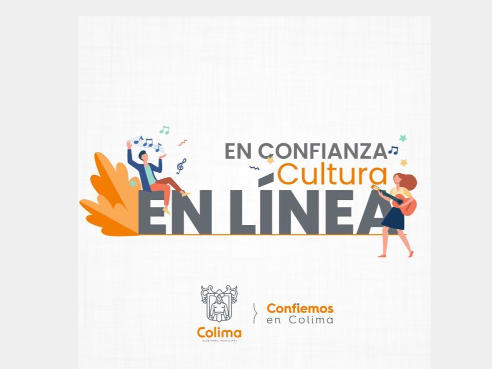 En Confianza Cultura en Línea, programa de streaming de difusión y promoción artística y cultural.