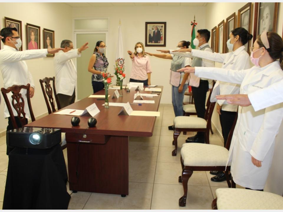 Instala DIF Estatal Comité de Seguridad  en Salud ante el Covid-19