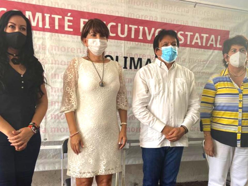 Diputados federales y locales de Morena en Colima se pronuncian por  encuesta abierta y unidad partidista en renovación de dirigencia nacional