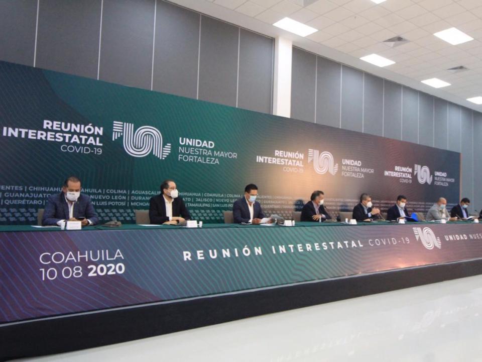 Gobernadores analizan temas  a tratar en reunión de Conago
