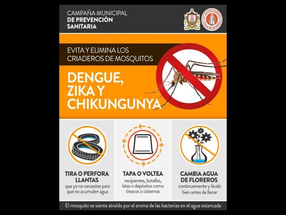 Felipe Cruz Reitera Invitación a Ciudadanos a Prevenir el Dengue