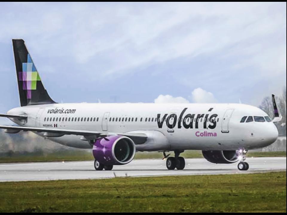 Volaris contribuye con la reactivación económica y turística de Colima con su ruta Colima-Tijuana