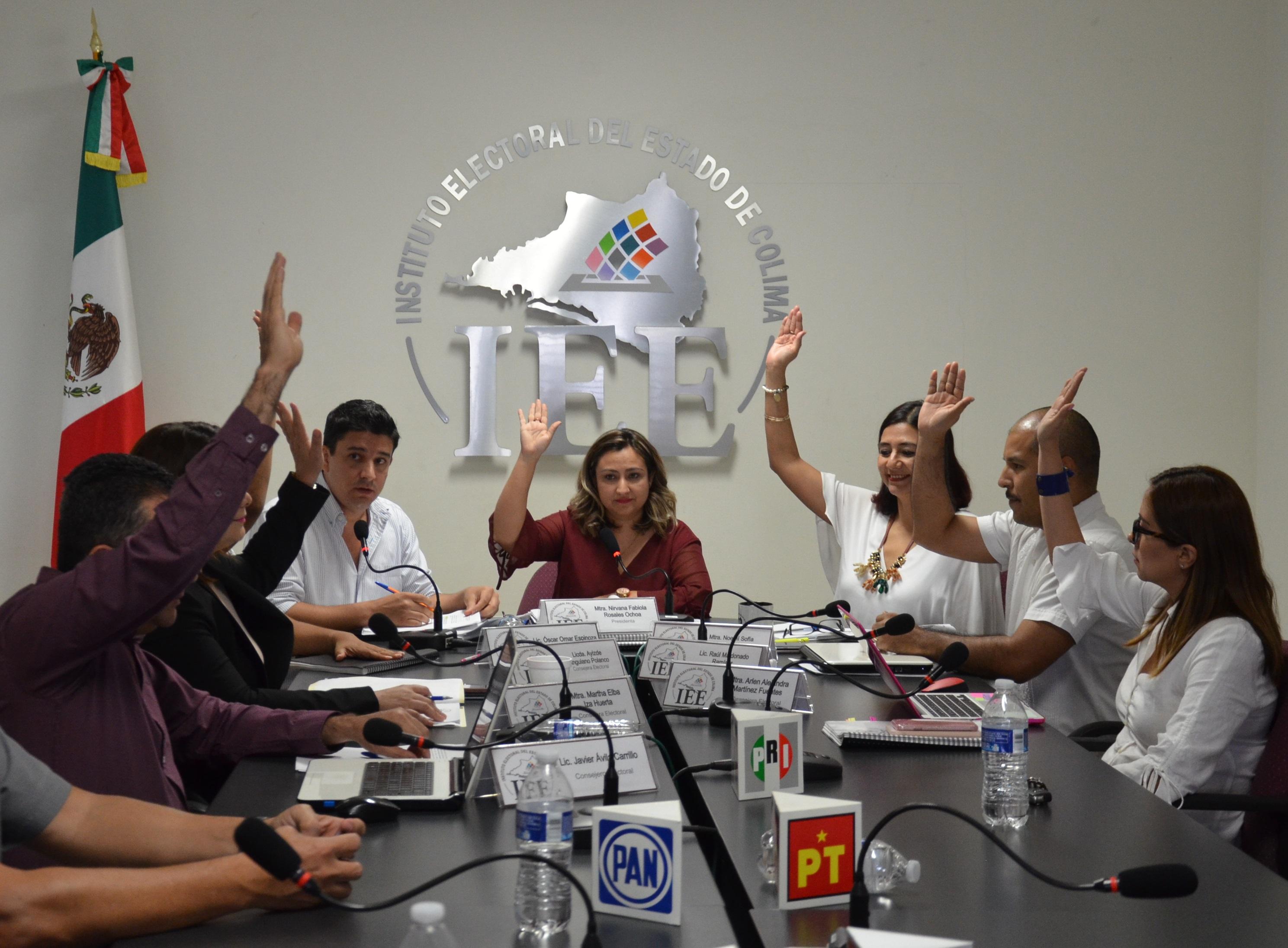 Exhorta Consejo General del IEE Colima a utilizar lenguaje  incluyente en propaganda de campañas electorales