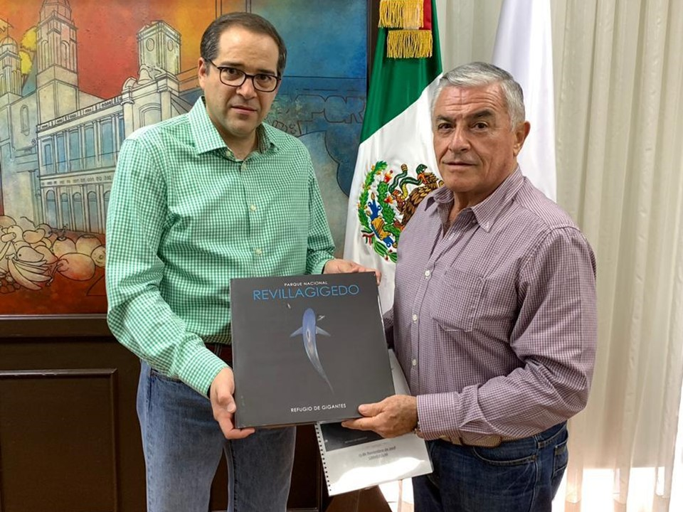 """Se presentará el libro """"Parque Nacional  Revillagigedo: Refugio de Gigantes"""""""