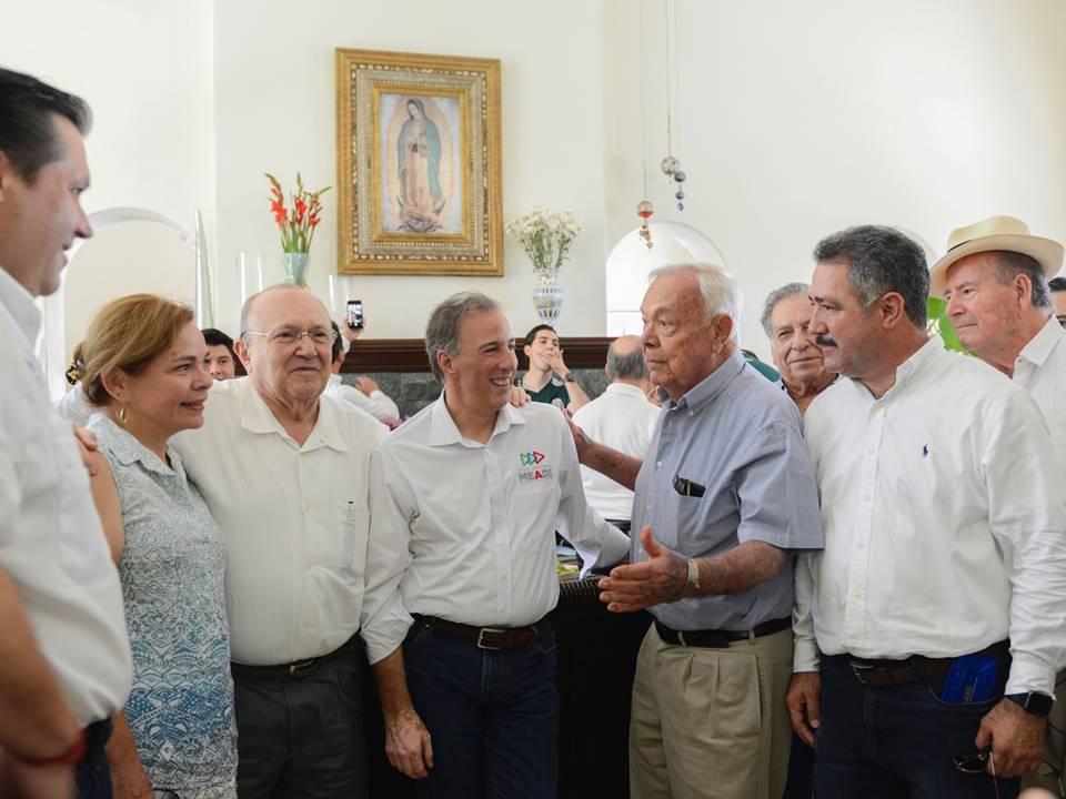 Meade recibe respaldo de reconocidos empresarios sinaloenses