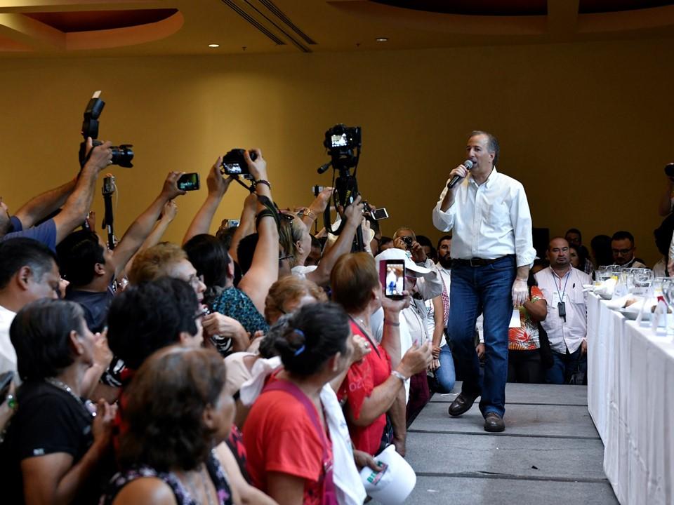 José Antonio Meade se reunió con estructuras del PRI en Veracruz