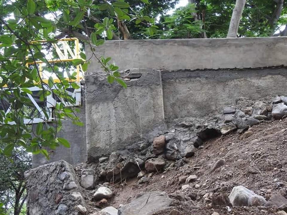 Se cae puente de Palmillas, Cuauhtémoc, obra que no alcanzo a ser inaugurada