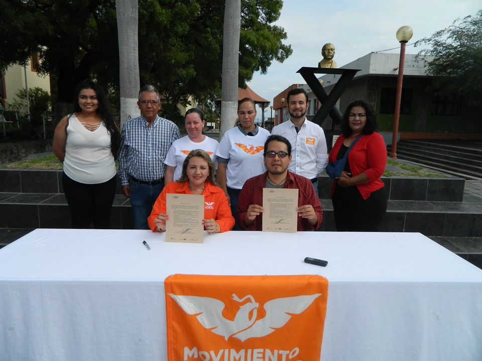 Claudia Zurita la primera candidata a la alcaldía en firmar Agenda Ambiental del municipio de Cuauhtémoc