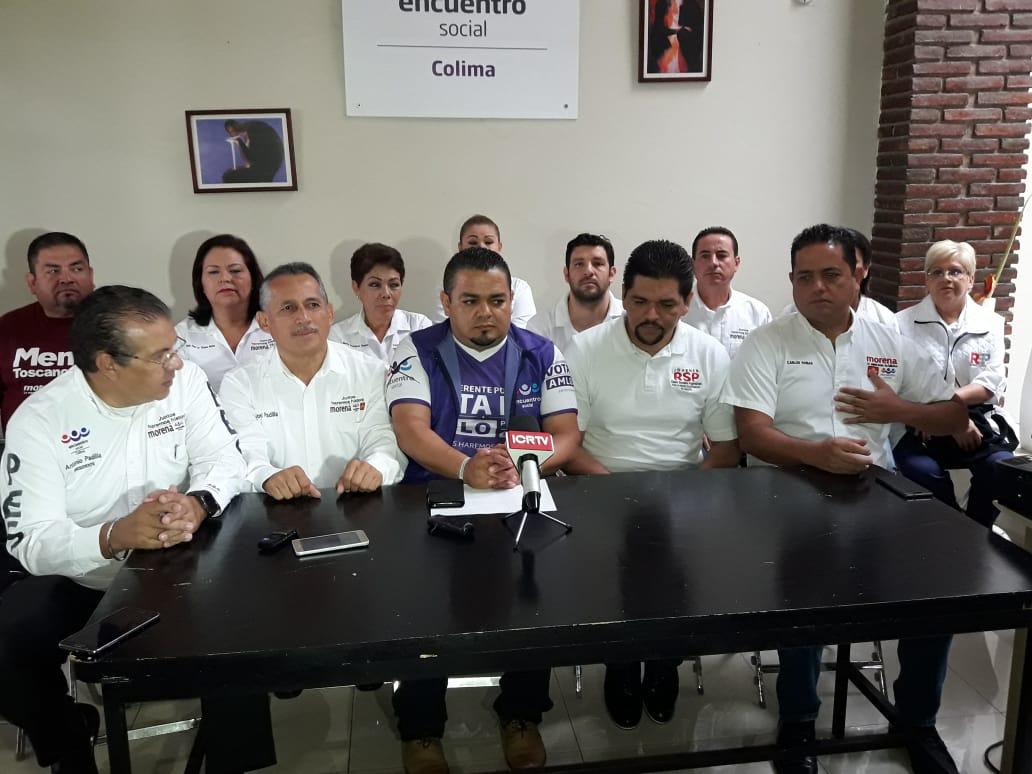 """Coalición """"Juntos Haremos Historia"""" invitan a la población al voto masivo a favor de ellos"""
