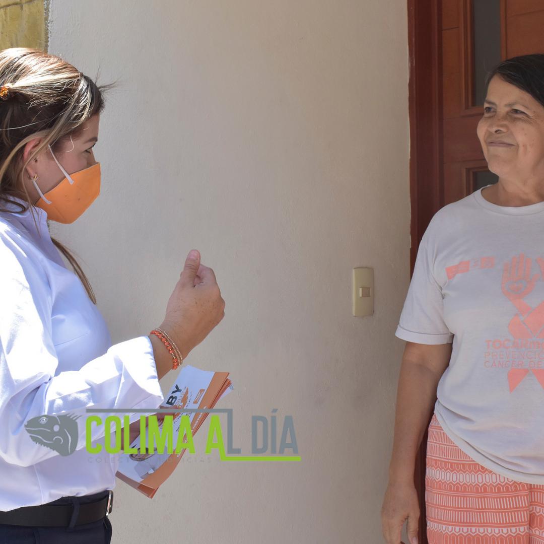 Con gran aceptación recorre Gaby Rodríguez colonias del D1