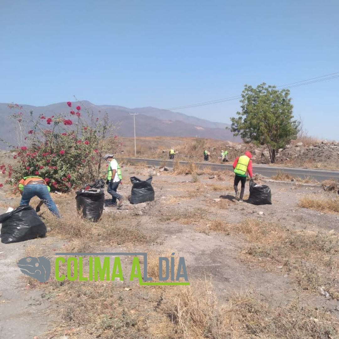 Felipe Cruz Agradece a Imades y Ayuntamientos, por Limpieza de Carretera a Minatitlán