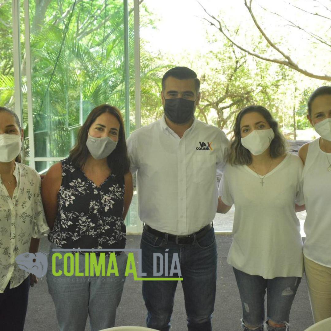 """Becas para las y los estudiantes de las universidades de Colima: Coalición """"Va X Colima"""""""