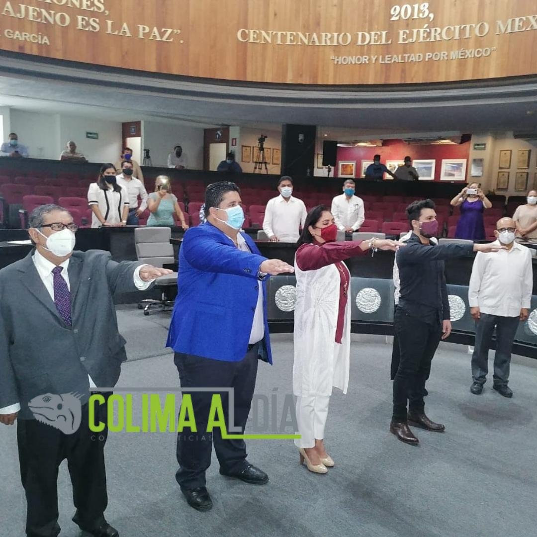 Rinden protesta diputada y diputados suplentes
