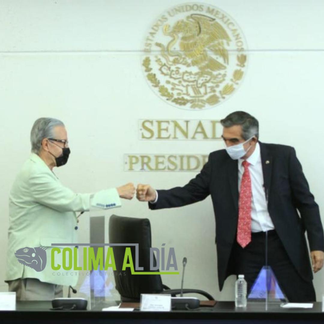 Fundación IMSS y Senado de la República firman convenio para fortalecer actividades legislativas en materia de salud