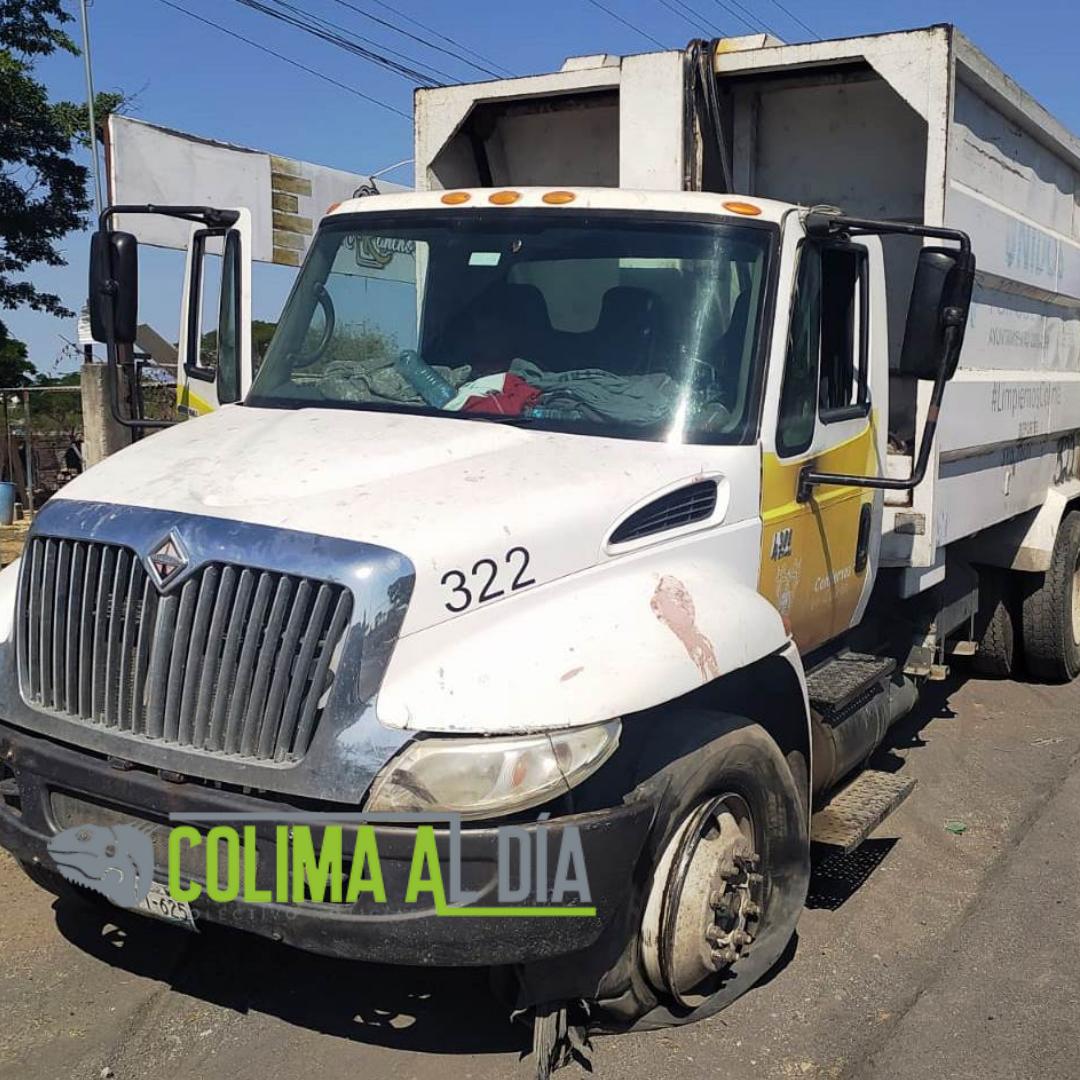 León Alam urge arreglar unidades de camiones de basura