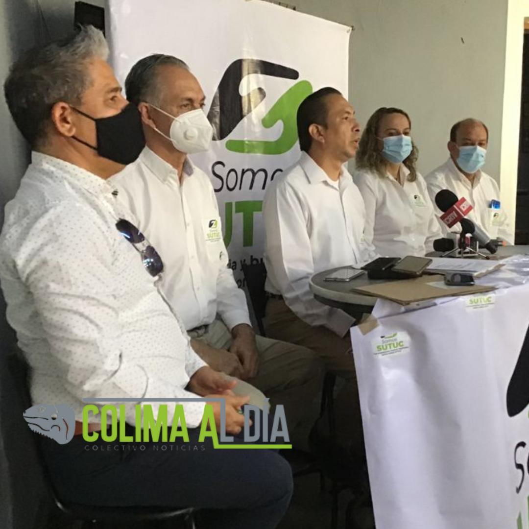 """Luis Enrique Zamorano Manríquez encabeza planilla """"Con Experiencia y Buenos Resultados Juntos Somos SUTUC"""""""