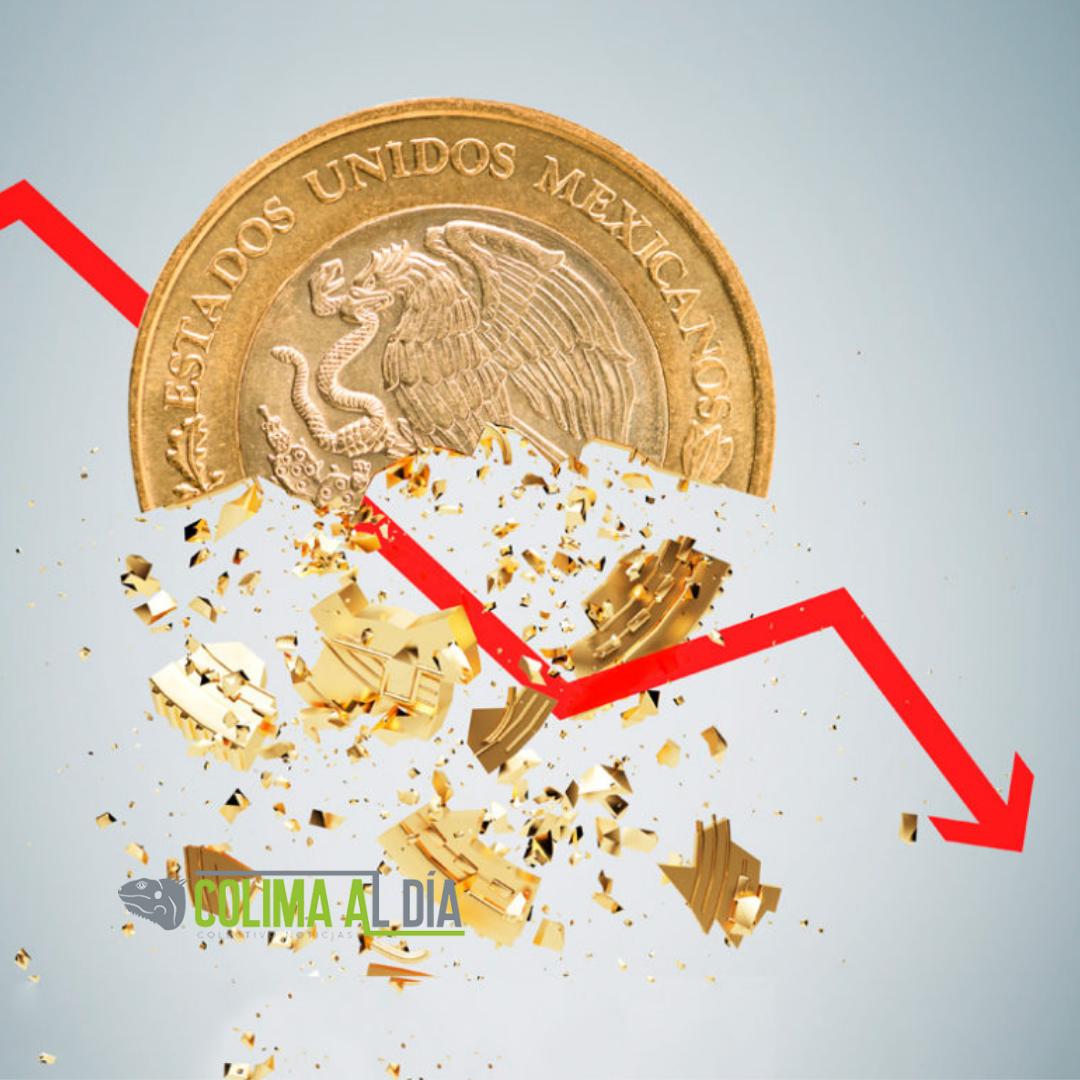 Se contrae la económica en México 1.6 por ciento