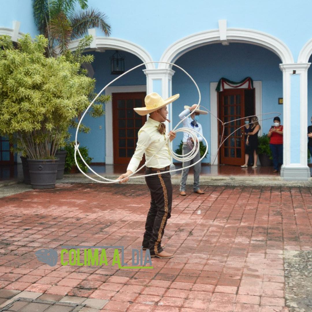 Ayuntamiento de Colima conmemora el Día del Charro.