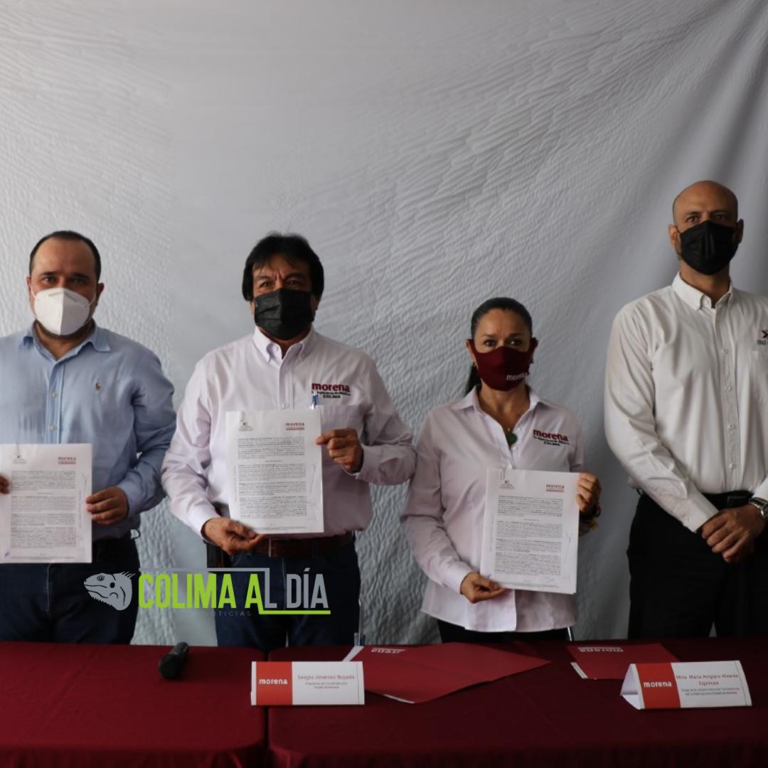 En los hechos, morena está demostrando ser un  partido transparente: presidente del Infocol