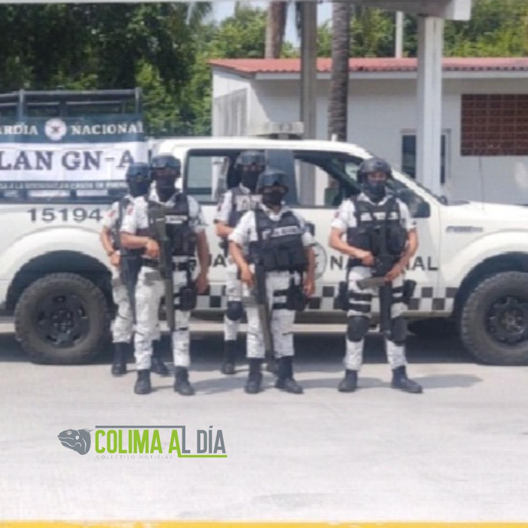 Por Huracán RICK guardia nacional implementa plan GN-A en su fase preventiva en Guerrero, Michoacán y Colima