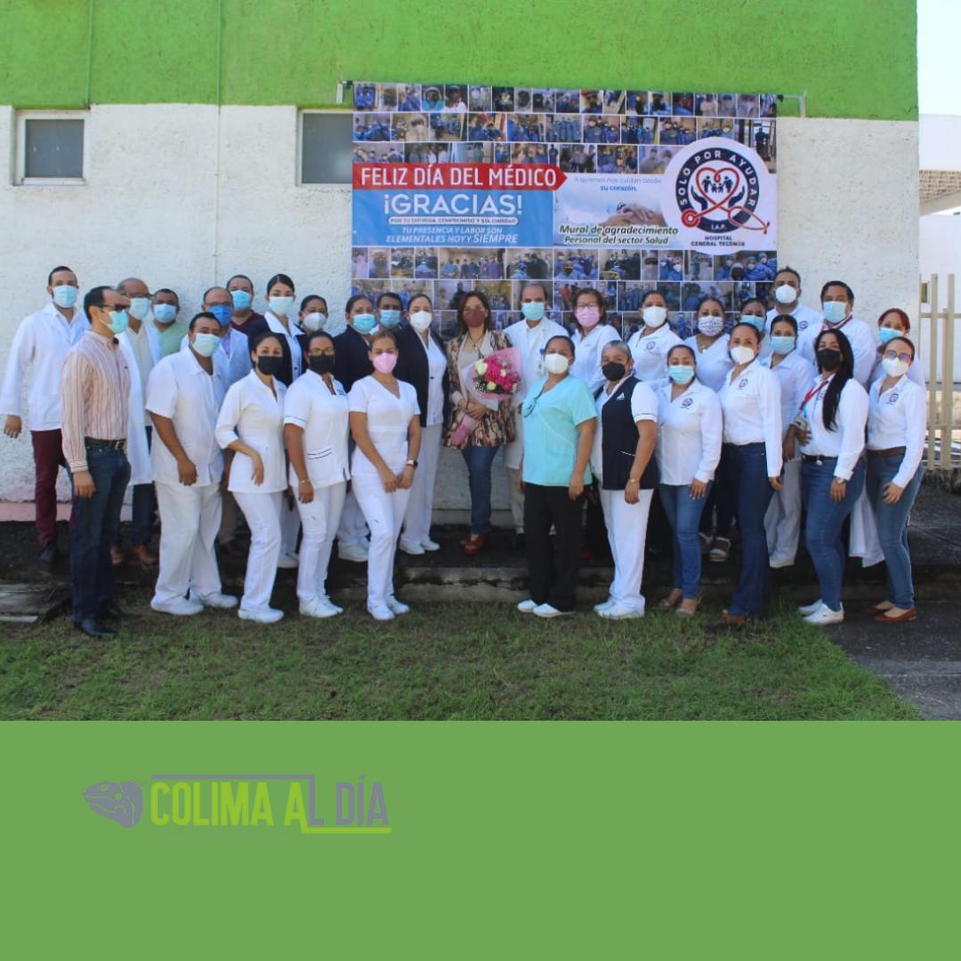 Secretaría de Salud brinda homenaje a  personal que atiende a pacientes Covid