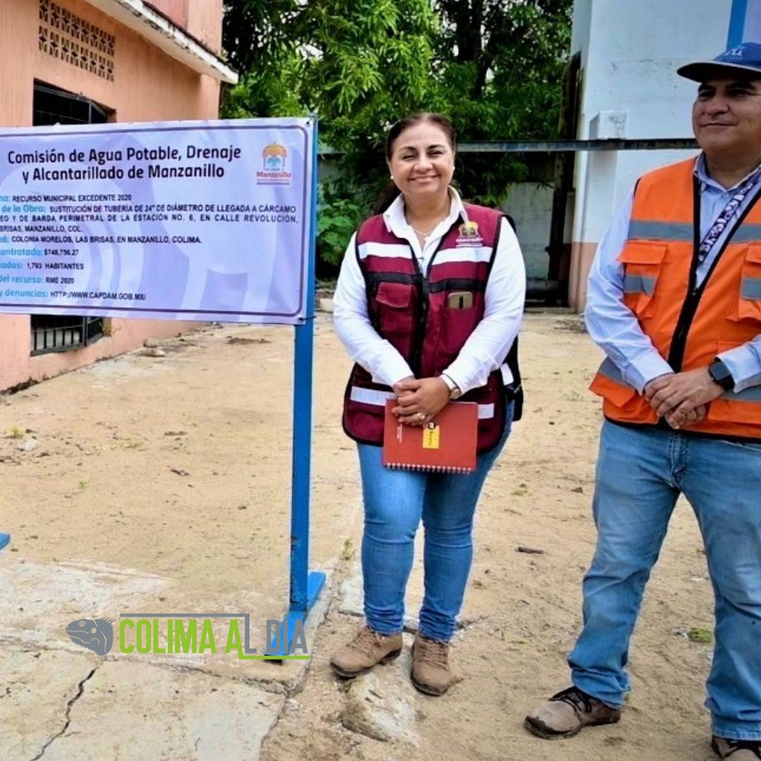 Griselda Martínez: hacemos obras que no  se ven, pero sí mejoran la calidad de vida