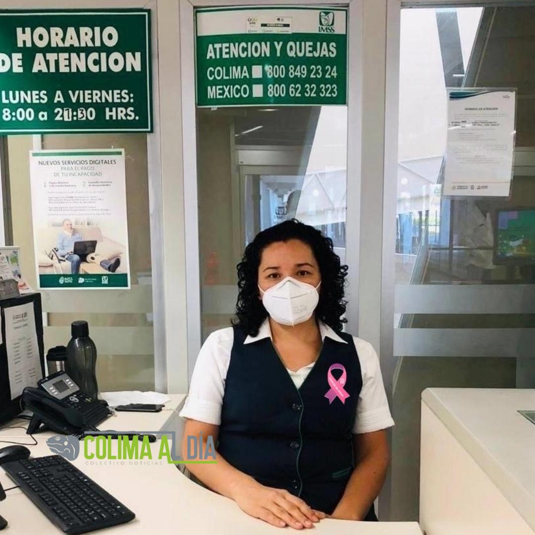 Personal TAOD brinda asesoría sobre los servicios en IMSS Colima para detección oportuna del cáncer de mama