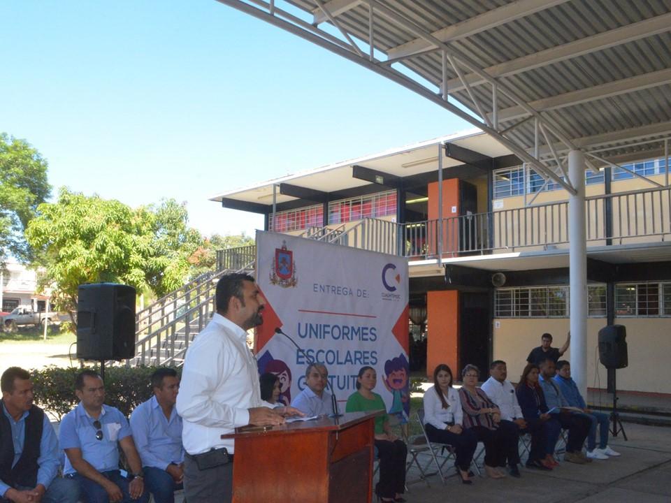 En el municipio de Cuauhtémoc hemos dado grandes avances, y hay obras y programas que nunca antes habían existido y hoy son una realidad: Rafael Mendoza.