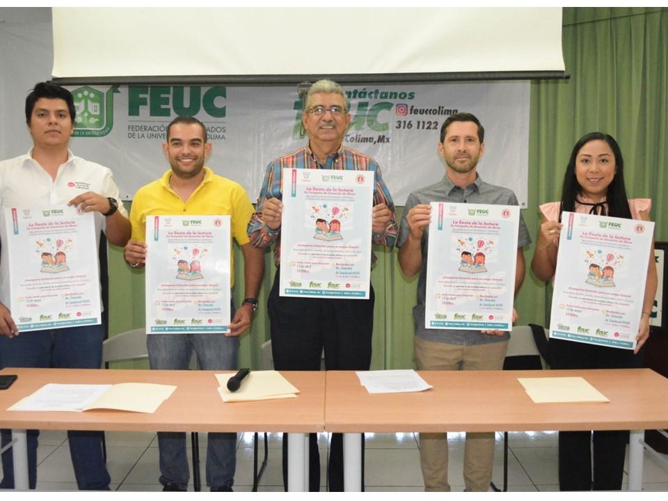 Egresados celebrarán Fiesta de la lectura para niños