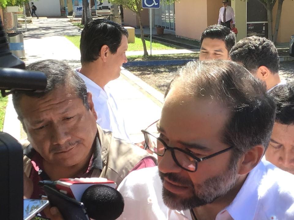 Peralta Sánchez expresa que su gobierno estará colaborativo a la federación en cuanto a beneficio de la población
