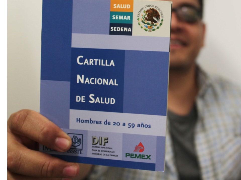 Cartilla Nacional, instrumento  para la salud del hombre: SSA