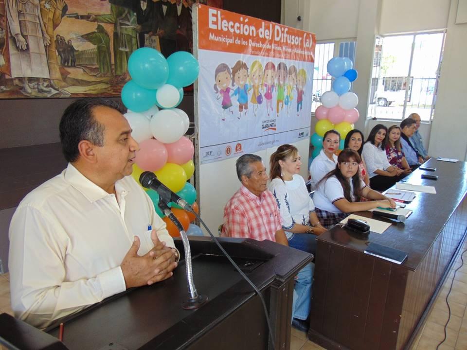 Será Oscar Ramírez Lares el Difusor de los Derechos de las Niñas y los Niños, en Villa de Álvarez