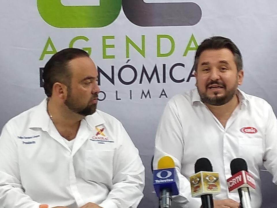 CMIC y CANIRAC presentan la Agenda Económica Colima, para impulsar el desarrollo económico