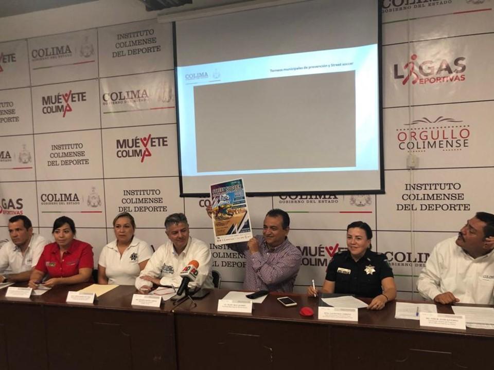 Felipe Cruz Anuncia Final Estatal de Street Soccer en La Petatera, 1, 2 y 3 de Marzo