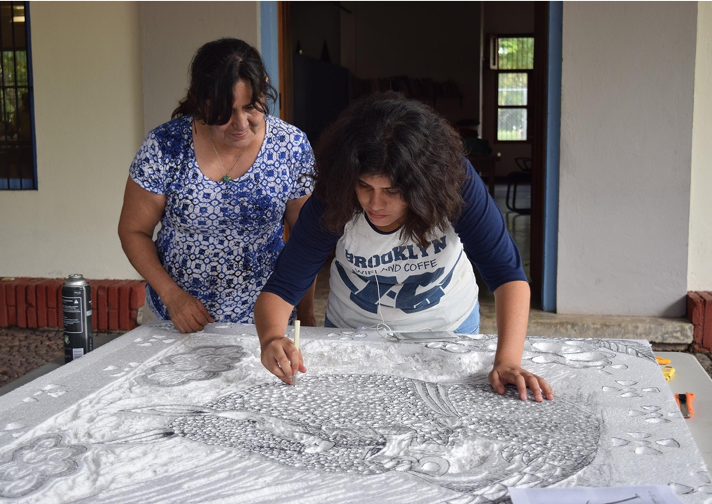 Plasmará grabado de 100 metros cultura e identidad de Colima