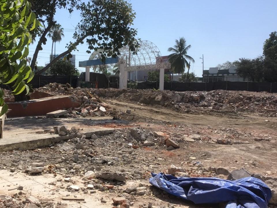 Gran avance de demolición de edificios para construir el C5i: SEIDUR