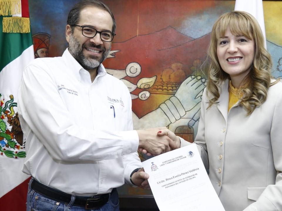 Rosa Evelia Pérez Valdivia, titular de  Comisión de Búsqueda de Personas